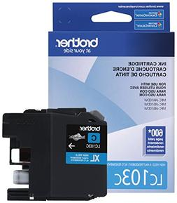 Brother Printer LC103C High Yield Cartridge Ink, Cyan