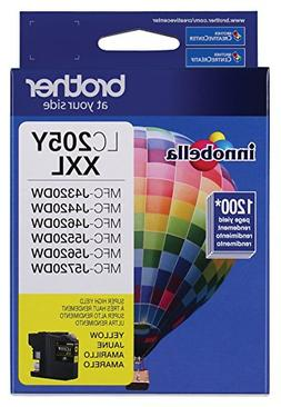 Brother Printer LC205Y Super High Yield Ink Cartridge, Yello