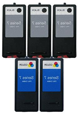 OCProducts Refilled Dell Series 7 DH828 DH829 Ink Cartridge