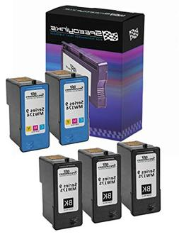 Speedy Inks - Remanufactured Set of 5 Pack with 3 Dell MK992