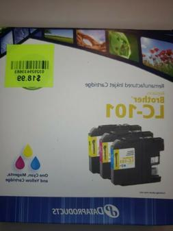 DataProducts Replacement For Brother LC-101 Multi Pack Ink C