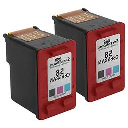 Speedy Inks - 2PK Remanufactured Replacement for HP 58 C6658