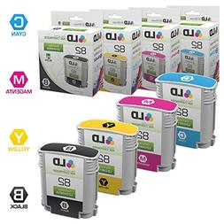 Remanufactured Replacements for HP 82 4PK Inkjet Cartridges