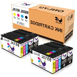 Set of 10 Pack For HP 950XL 951XL Ink Office Pro 8600 e-All-