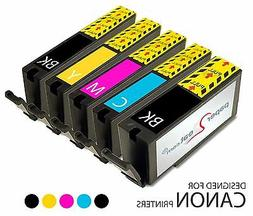 Set of 5 Refillable Edible Ink Cartridges Canon MX922 PGI-25