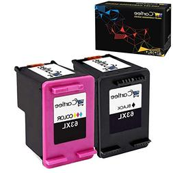 Cartlee 2 Remanufactured 63XL 63 XL High Yield Ink Cartridge